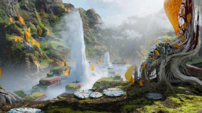 Apex Legends Geyser escape