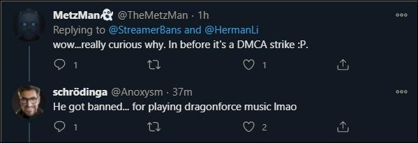 HermanLi's possible ban reason