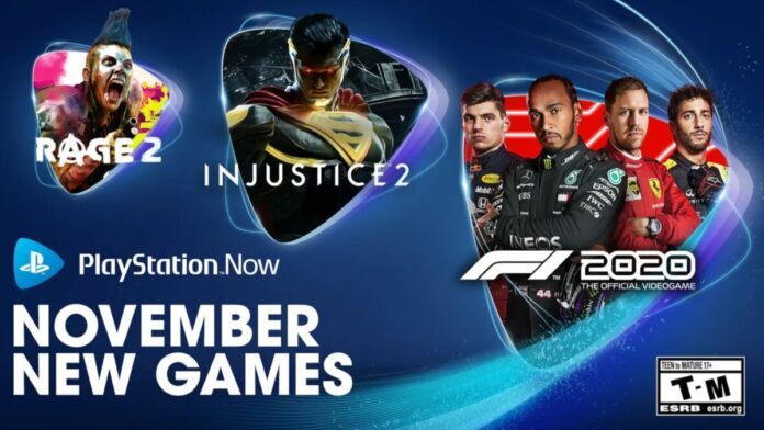 PS Now games November 2020