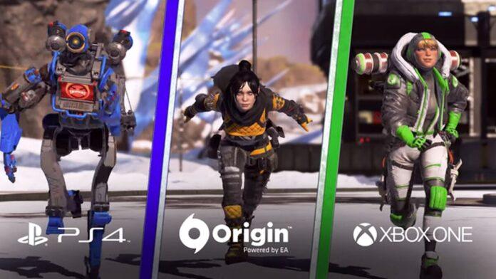 Apex Legends cross-progression consoles