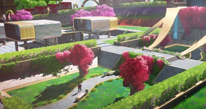 Apex Legends map Olympus locations