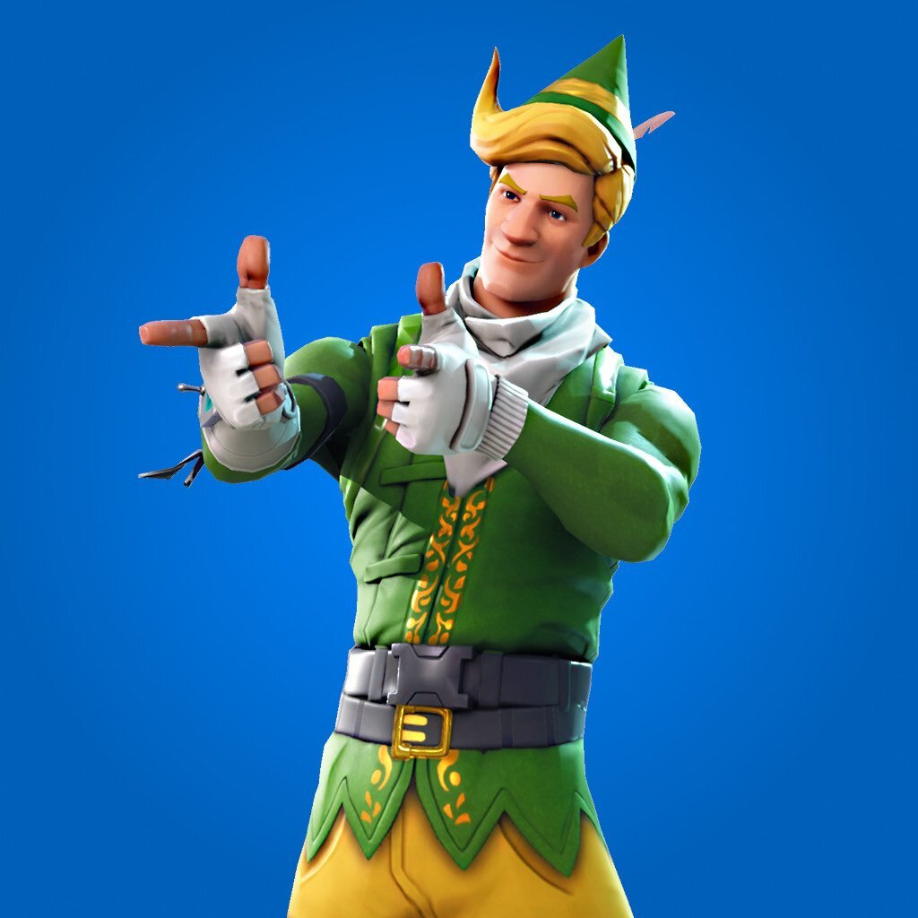 Fortnite Codename Elf Skin, Currently Lachlan's Main