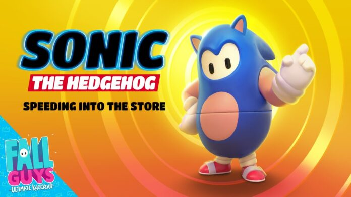 Sonic The Hedgehog arrives in Fall Guys