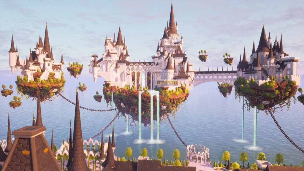 """Island of Dreams"" Creative box fight map"