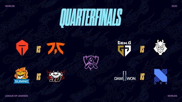 Worlds 2020 Quarterfinals