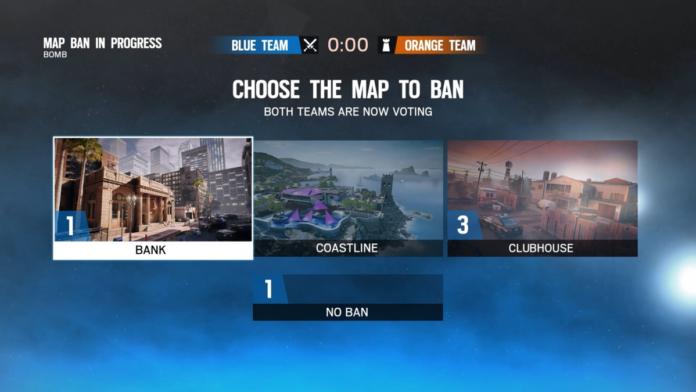 Siege biased map ban