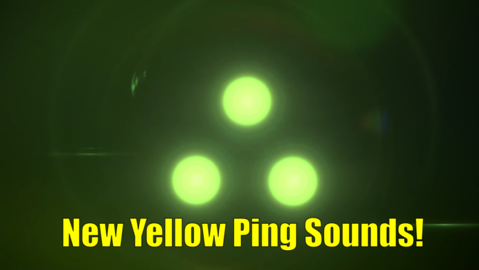 New Yellow ping sounds