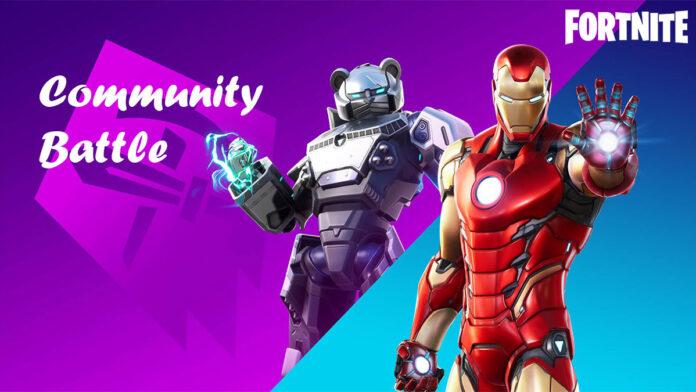 Fortnite community battle