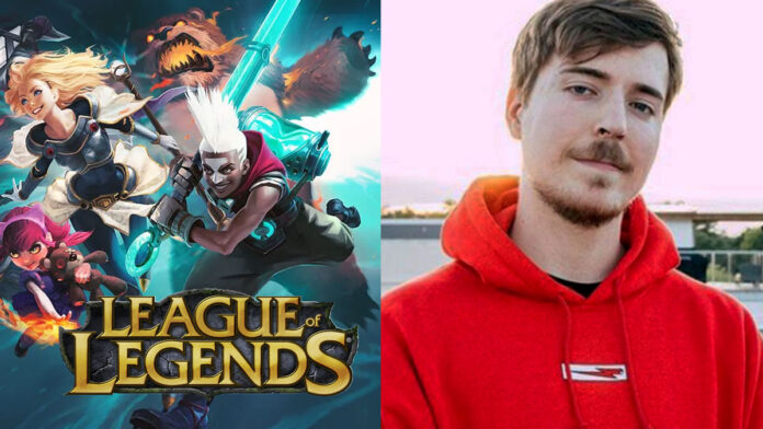 MrBeast dreams of owning a League of Legends team