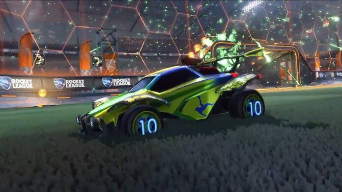 Rocket League Pelé themed items