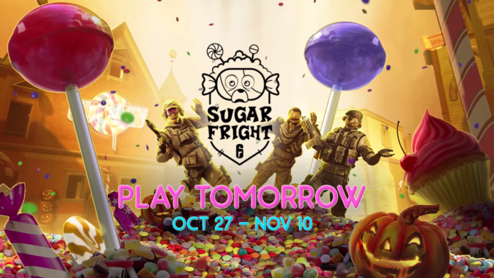 Siege Sugar Fright halloween event