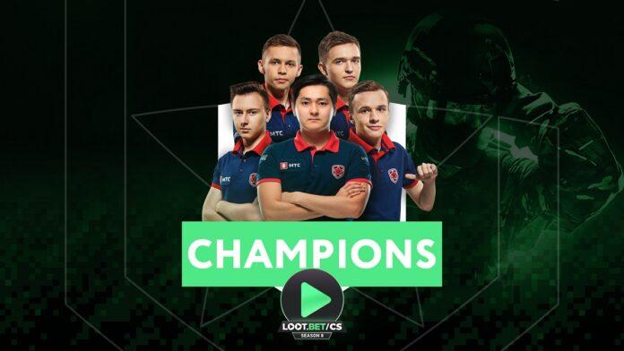 Gambit win LOOTBET season 8