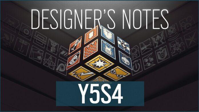 Y5S4 pre-season designer's notes