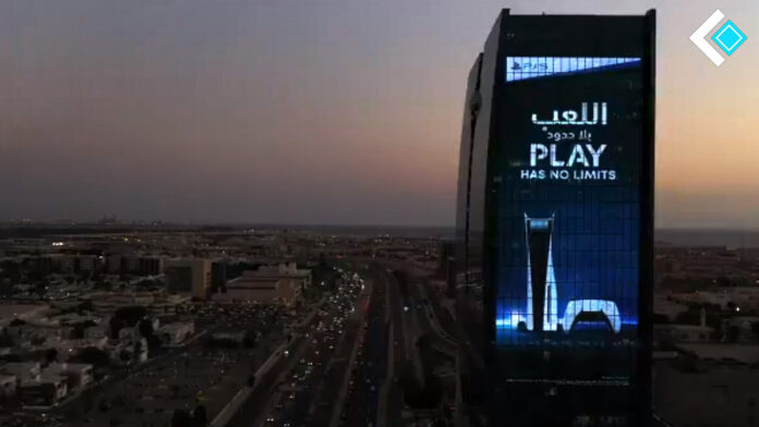 Saudi Arabia celebrating PS5 launch in style