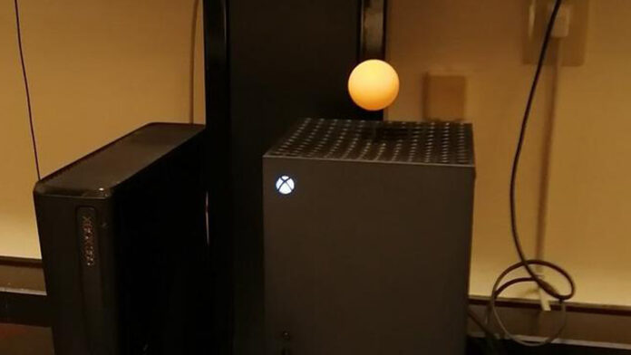 Xbox Series X can apparently float a ping pong ball