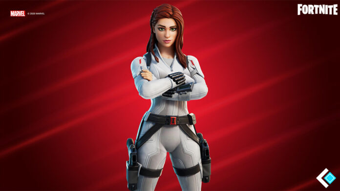 Black Widow skin in Fortnite