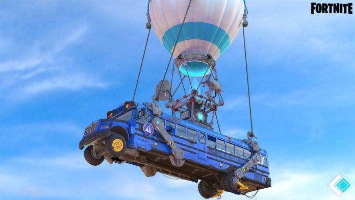 Fortnite Drivable Battle Bus
