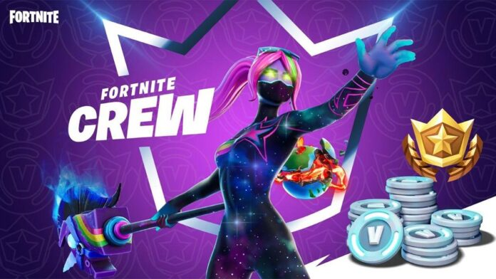 Fortnite Monthly Crew Pack
