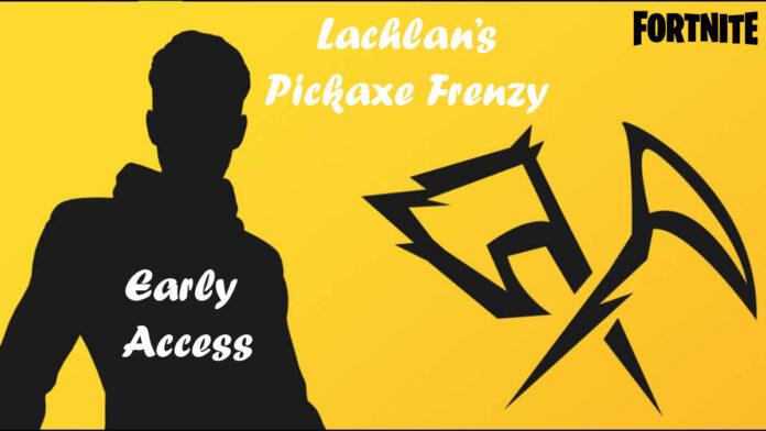 Lachlan announces his pickaxe only tournament