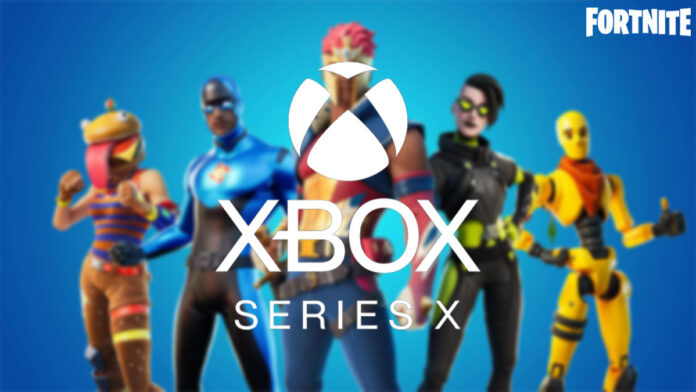 Fortnite Loading time on the Xbox Series X revealed