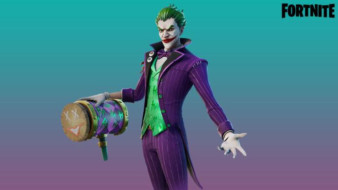 Fortnite last laugh bundle joker skin