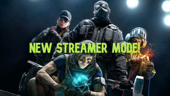 rainbow six siege streamer mode