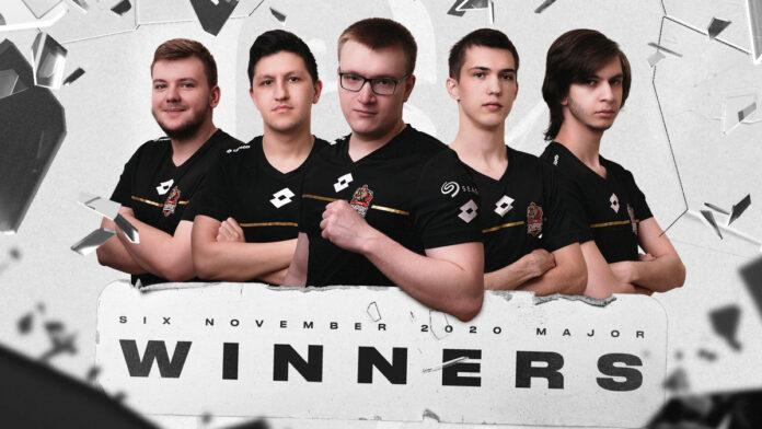 Team empire wins EU november major