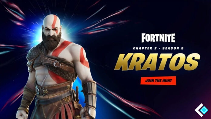 Kratos skin in Fortnite