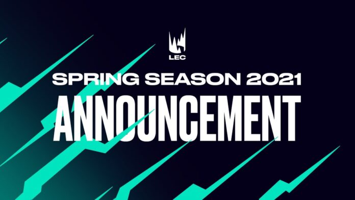 LEC Spring Season 2021