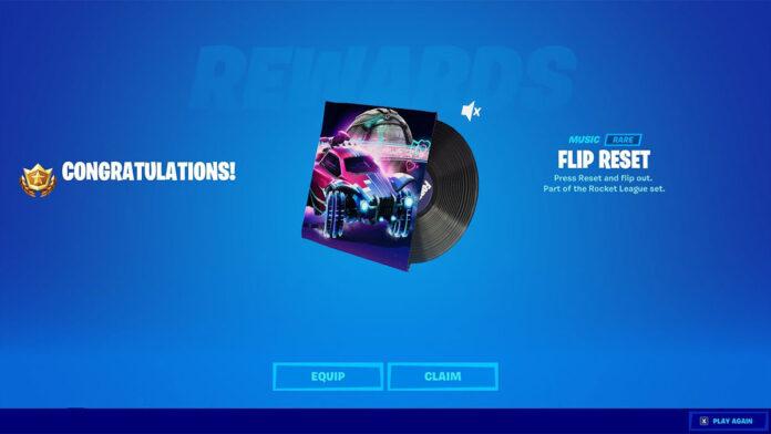 Fortnite free Rocket League music pack