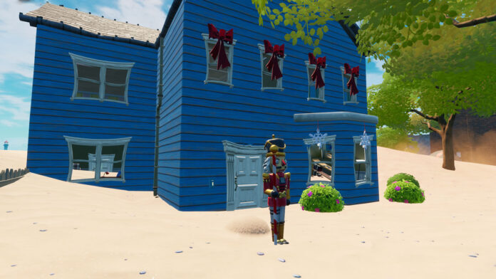 Fortnite Nutcracker locations Season 5