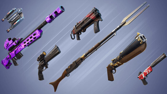 Fortnite leak suggests weapon mods coming