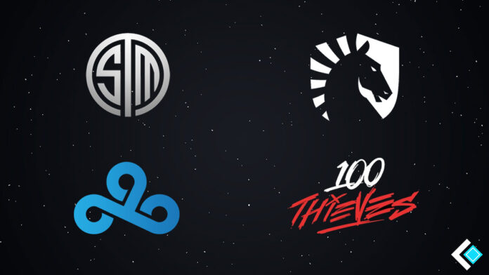 Some famous esports organizations