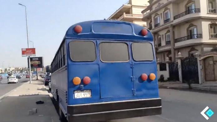 Fortnite Battle Bus found in Egypt