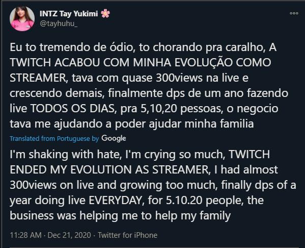 Tayhuhu's response translated