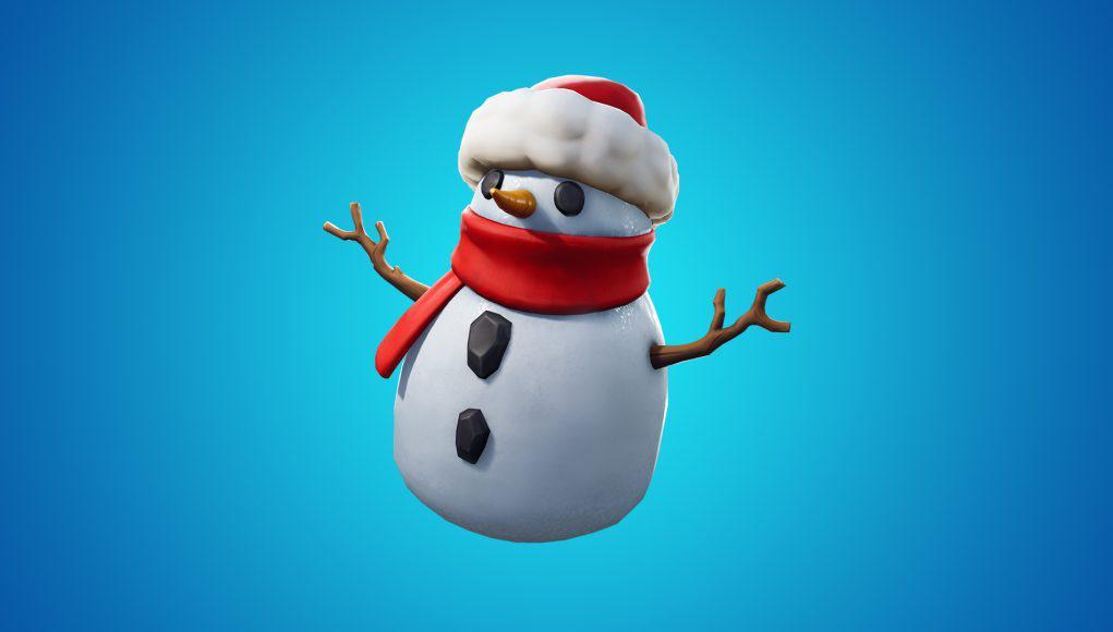 Fortnite snowman