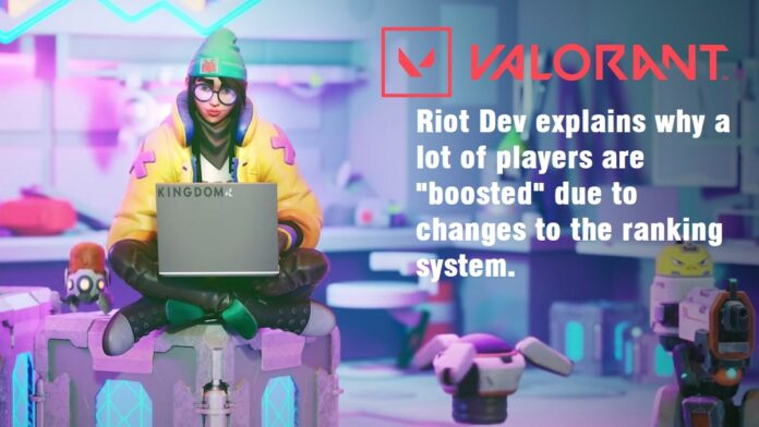 Valorant boosted players