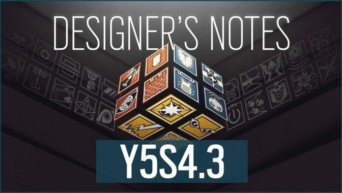 rainbow six designer's notes Y5S4.3