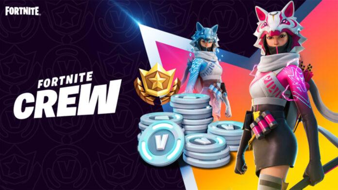 Fortnite new Crew skin VI
