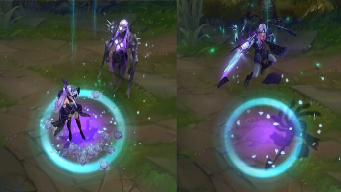 Withered Rose Syndra and Talon Skin