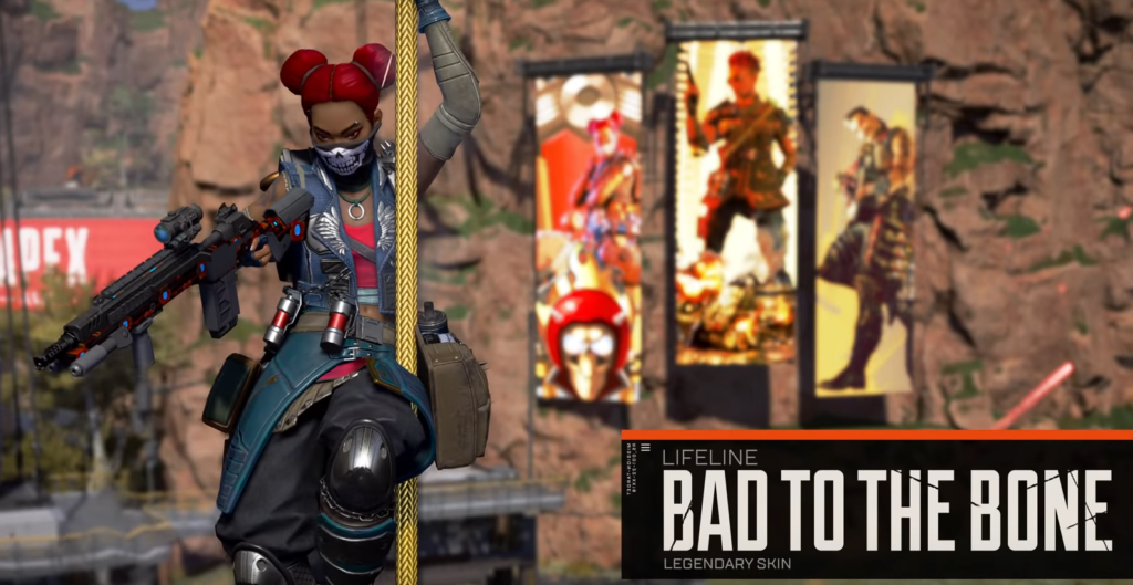 Lifeline season 8 battle pass Bad to the bone skin