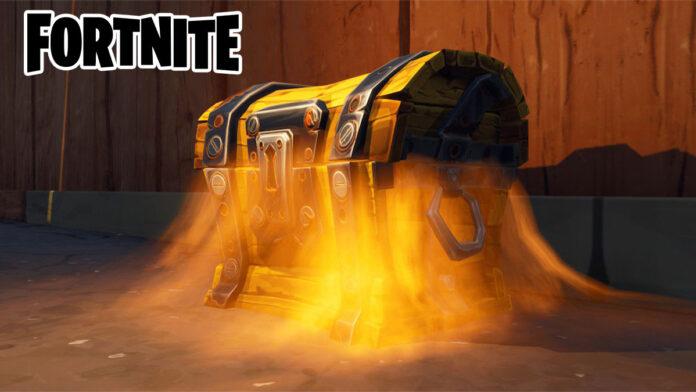 Fortnite loot chest