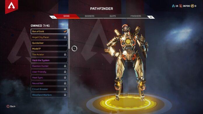 bot of gold returning