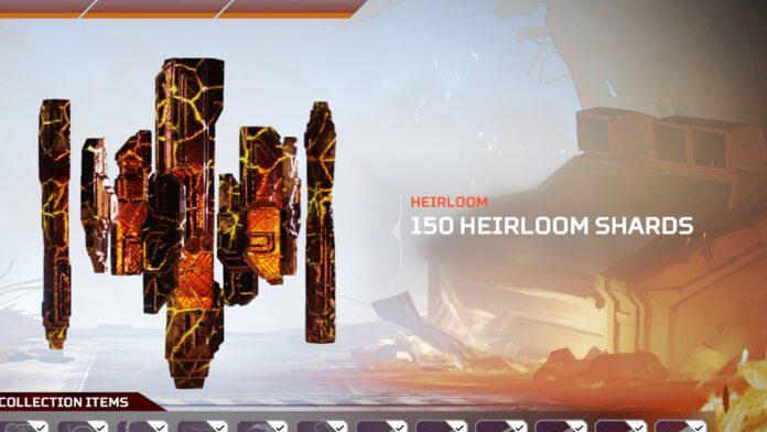heirloom shards bug