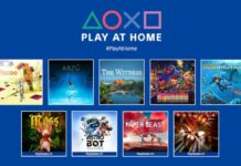 PlayStation's Play At Home Initiative is giving away 10 more games