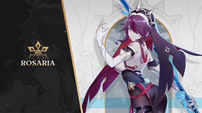 Genshin Impact Rosaria official