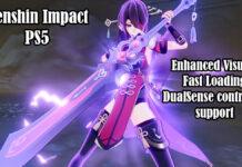 Genshin Impact PS5 version launch trailer
