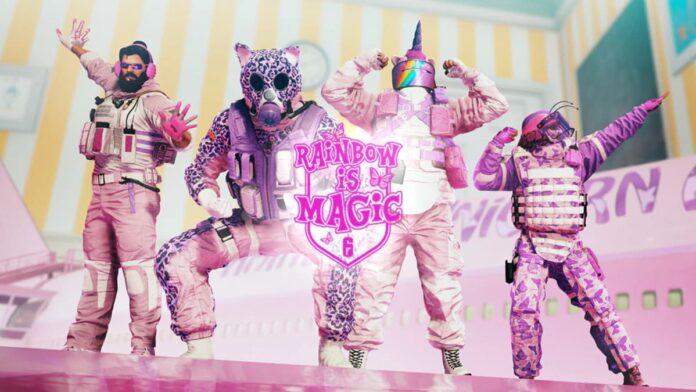 rainbow is magic event