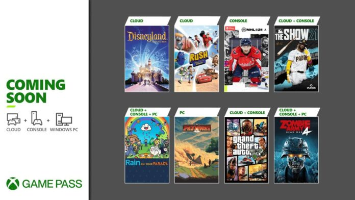 GTA V, MLB The Show 21, and more coming to Xbox Game Pass