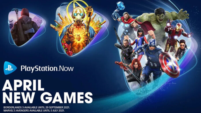 PS Now April 2021 new games